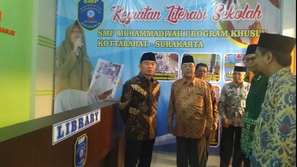 Mendikbud Resmikan Gedung SMP dan SMA Muhammadiyah Program Khusus Kottabarat Solo