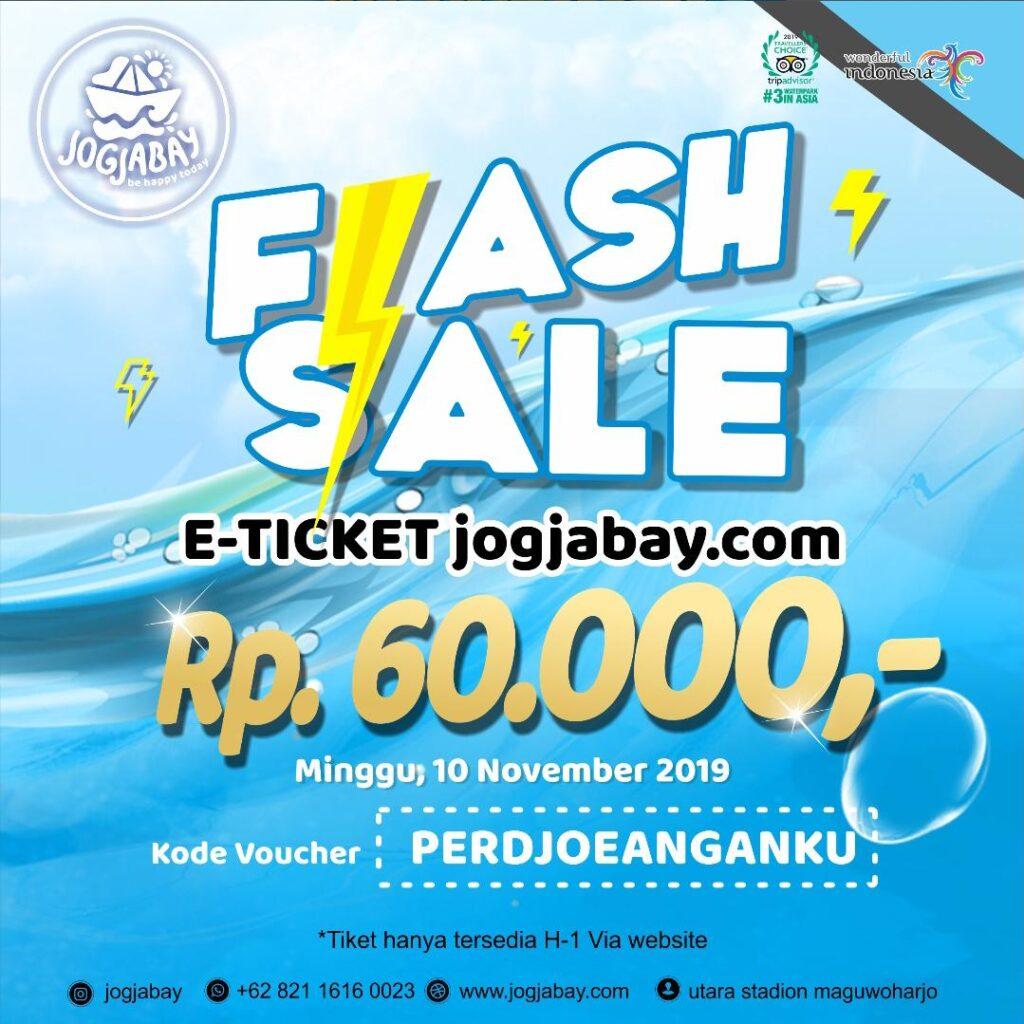 Diskon 40% Berenang di Jogja Bay di Hari Pahlawan
