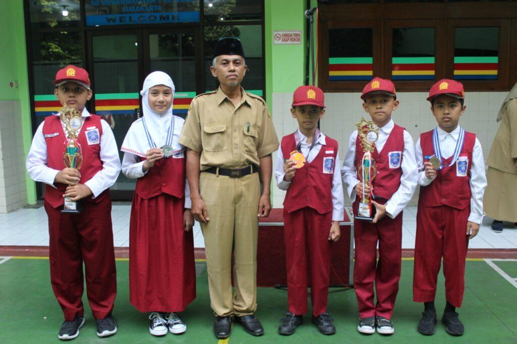 Peringati Hari Inovasi, Lima Siswa SD Muhammadiyah 1 Ketelan Solo Tabur Prestasi