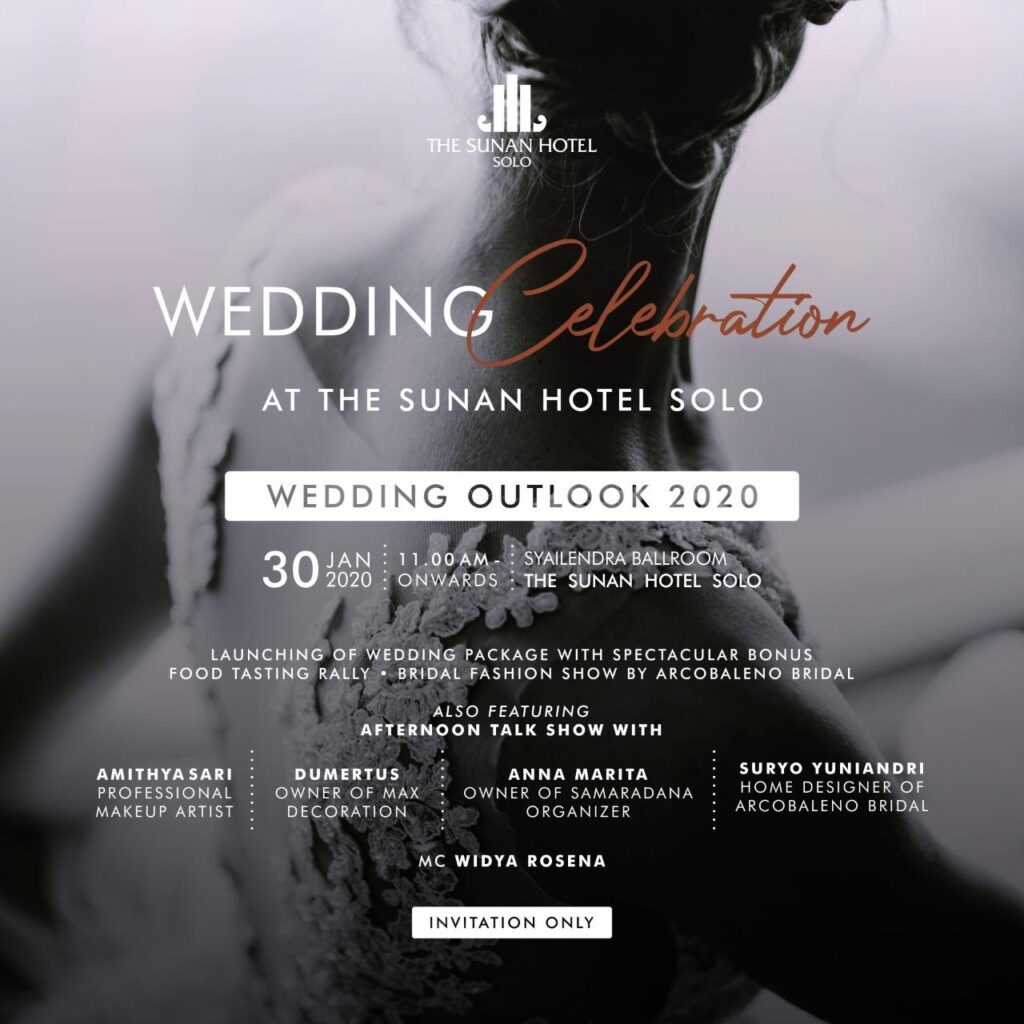 "LiveTalkshow, Wedding Celebration ""Wedding Outlook 2020"""