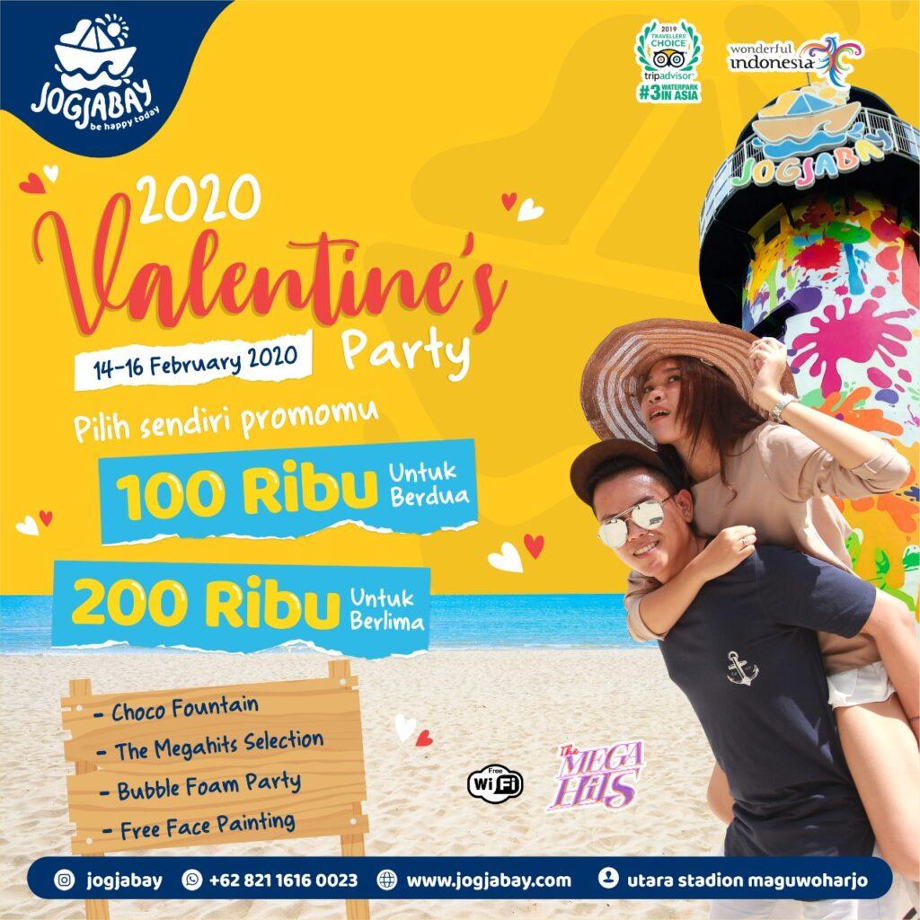 The 2020 Valentine's Party Jogja Bay