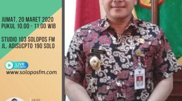 Sapa Kandidat Bersama Purwadi, Wakil Bupati Sukoharjo Dan Bakal Calon Bupati Sukoharjo Periode 2020-2024