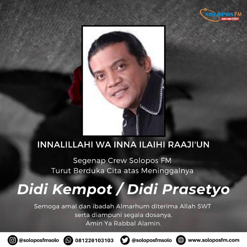 "Obituari Didi Kempot ""The Godfather of Broken Heart"""
