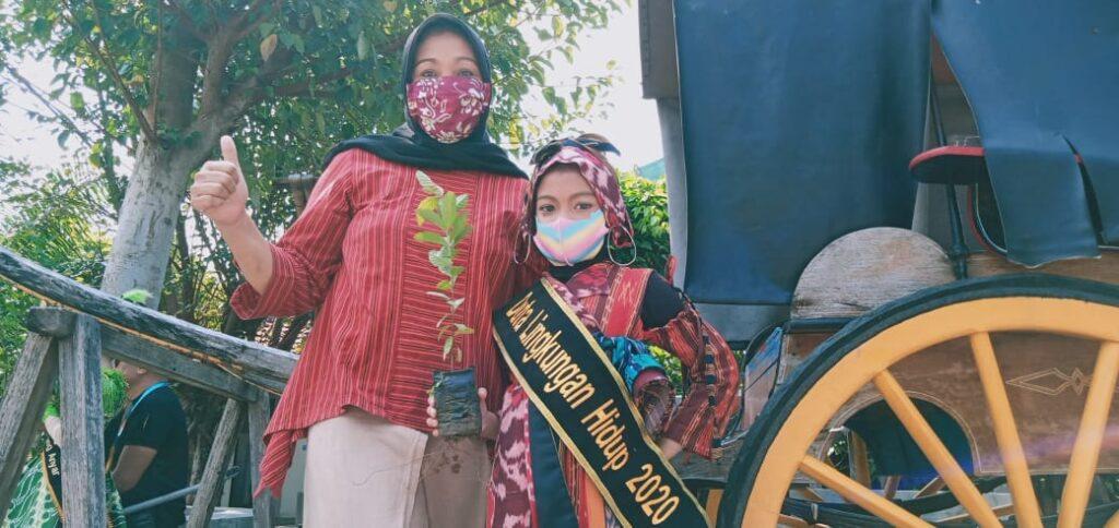 Rajwa Aisyah Mau'ida Izzati Jadi Duta Lingkungan Hidup