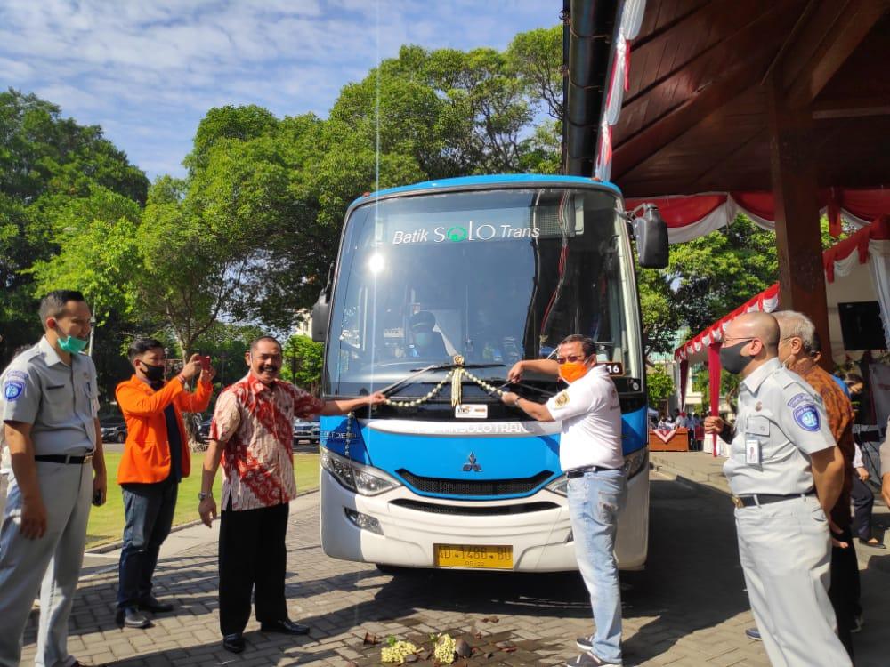 Hadir Di Kota Kedua, Teman Bus Mulai Layani Masyarakat Solo