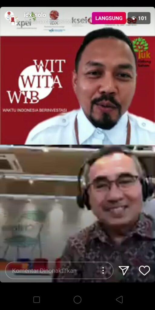 BEI : Program WIB Dongkrak Investor Saham Solo Raya