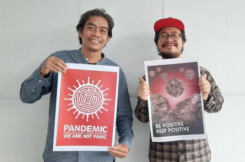 Desain Poster Karya Dosen Prodi DKV FSRD ISI Surakarta Ikuti Pameran Poster Internasional di Catalunya, Spanyol Tahun 2020