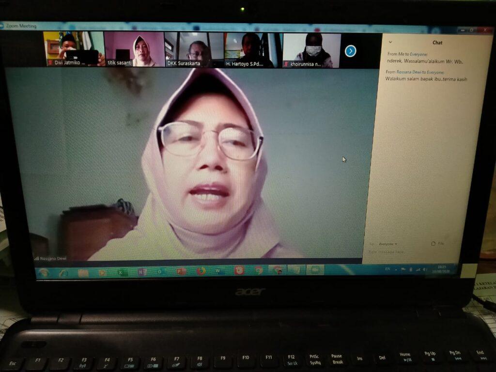 Gita Pertiwi Gelar Pelatihan Virtual Kantin Sehat Sekolah Ramah Anak
