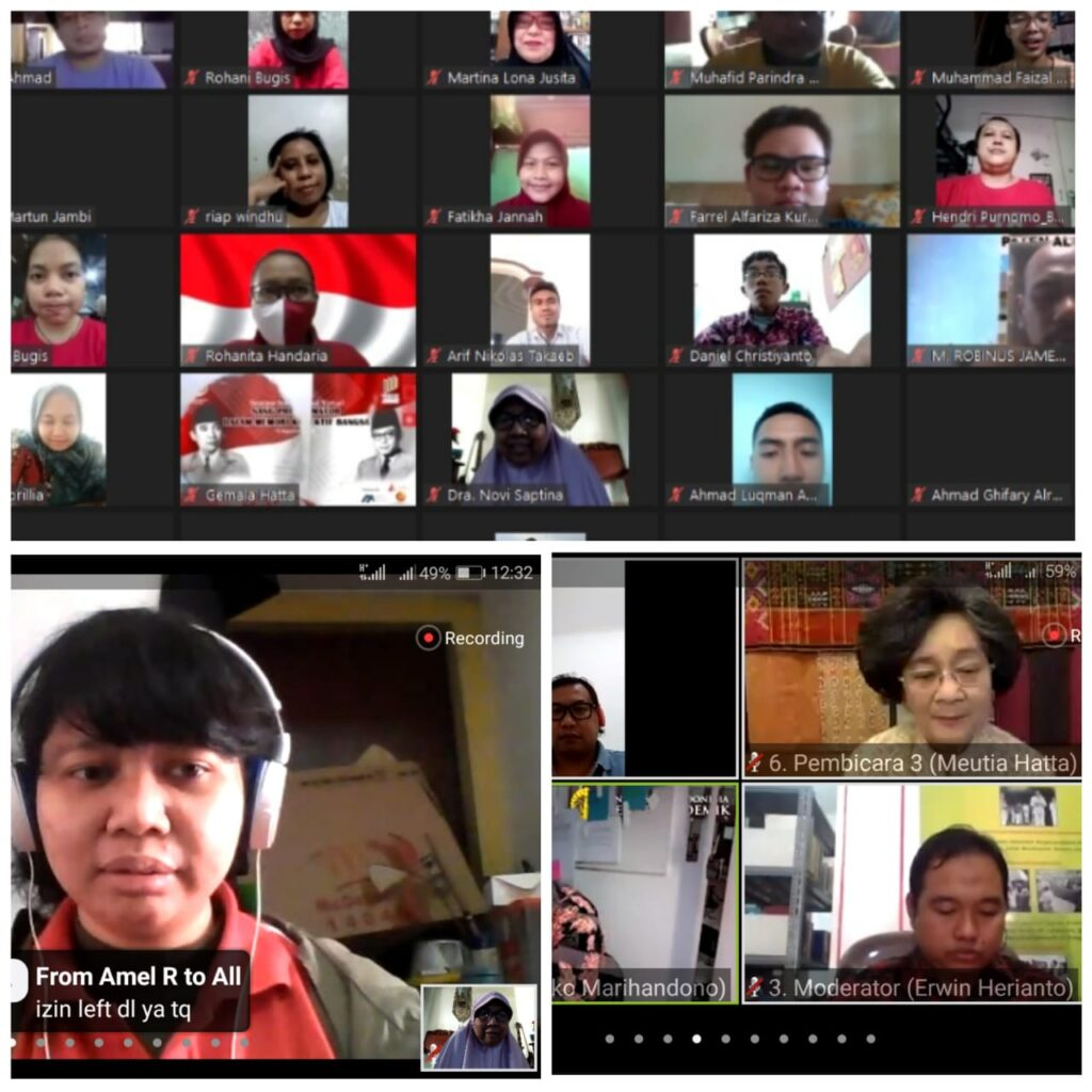 Diskusi Proklamasi Bersama Putri Bung Hatta