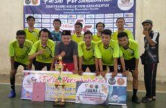 PCPM Kebakramat Juara 1 Futsal KOKAM Cup