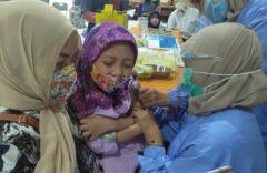 SD Muhammadiyah PK Kottabarat Gelar Imunisasi Campak Rubella