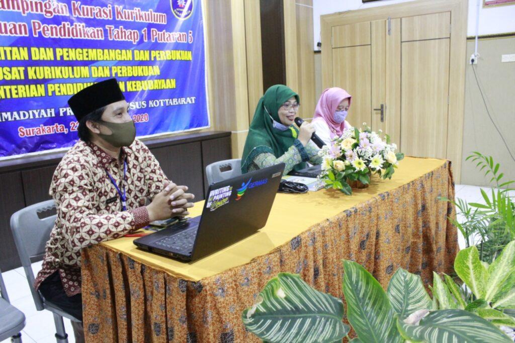 Kemendikbud Tunjuk SD Muh PK Kottabarat Pendampingan Kurasi Kurikulum
