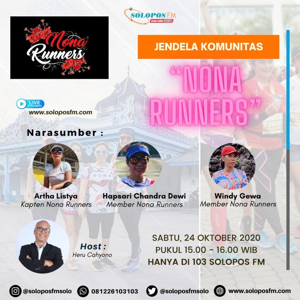 Jendela Komunitas : Hobby Lari Bersama Nona Runner