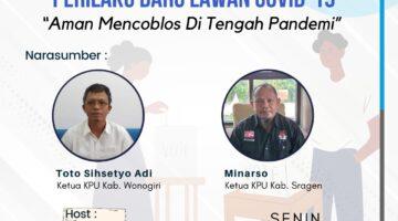 Program Perilaku Baru Lawan Covid-19 Solopos FM : Aman Mencoblos Di Tengah Pandemi