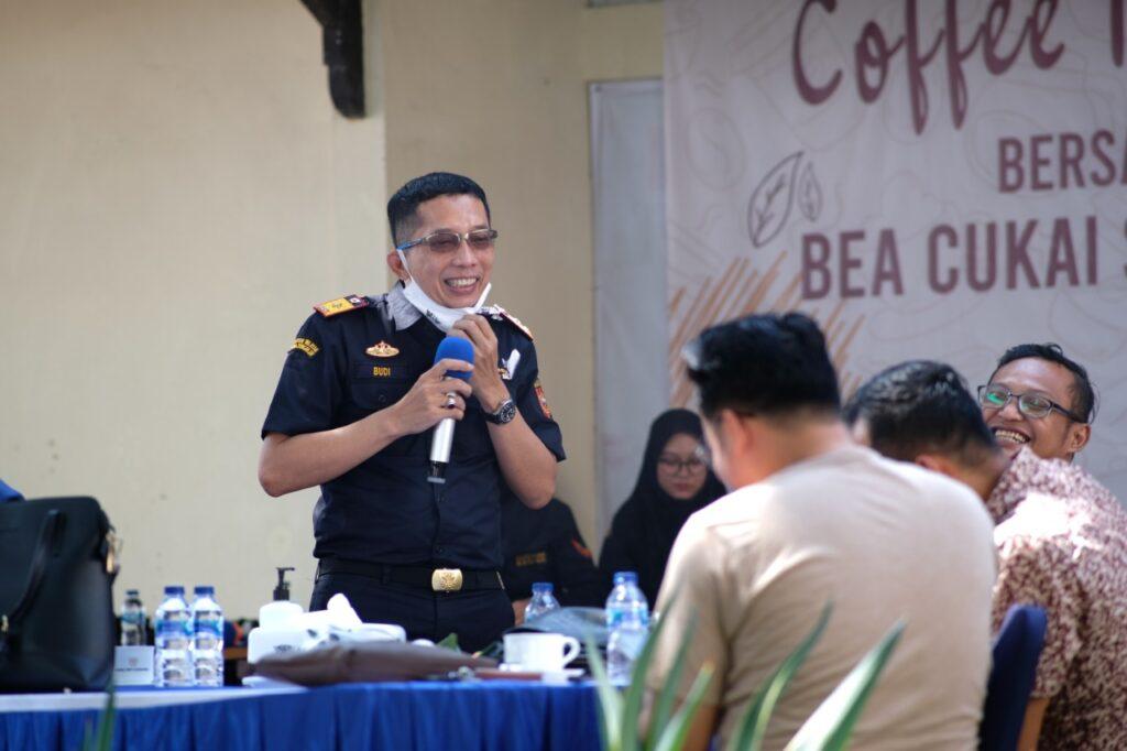 Coffee Morning Kantor Bea Cukai Surakarta dengan Reksan Cukai