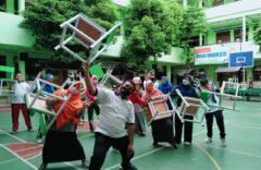 SD Muh 1 Ketelan Solo Siapkan Satu Siswa Satu Meja Kursi Untuk PTM