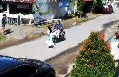 Viral, Lari karena Takut Gempa, Mahasiswi Cantik di Mamuju Ditabrak Motor