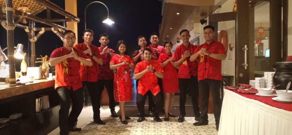 Mini Beijing di Perayaan Imlek Aston Solo Hotel