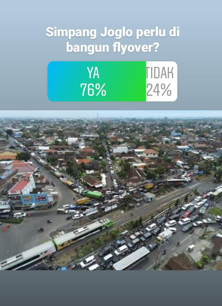 Segera! Pendengar Solopos FM Desak Pembangunan Flyover Palang Joglo