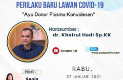 Bantu Penderita Covid-19! Ayo Donor Plasma Konvalesen!