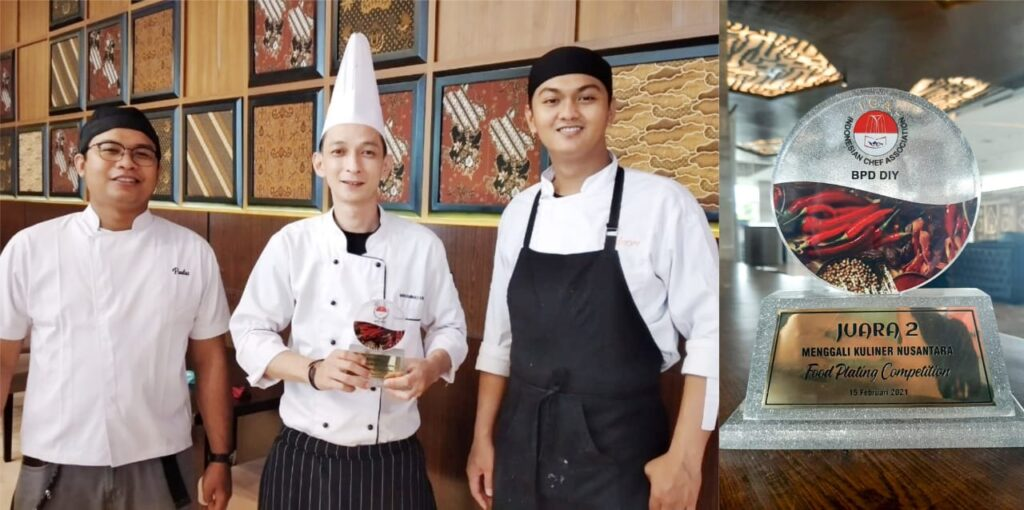 The Alana Hotel & Convention Center Solo Raih Juara II Plating Competition 2021