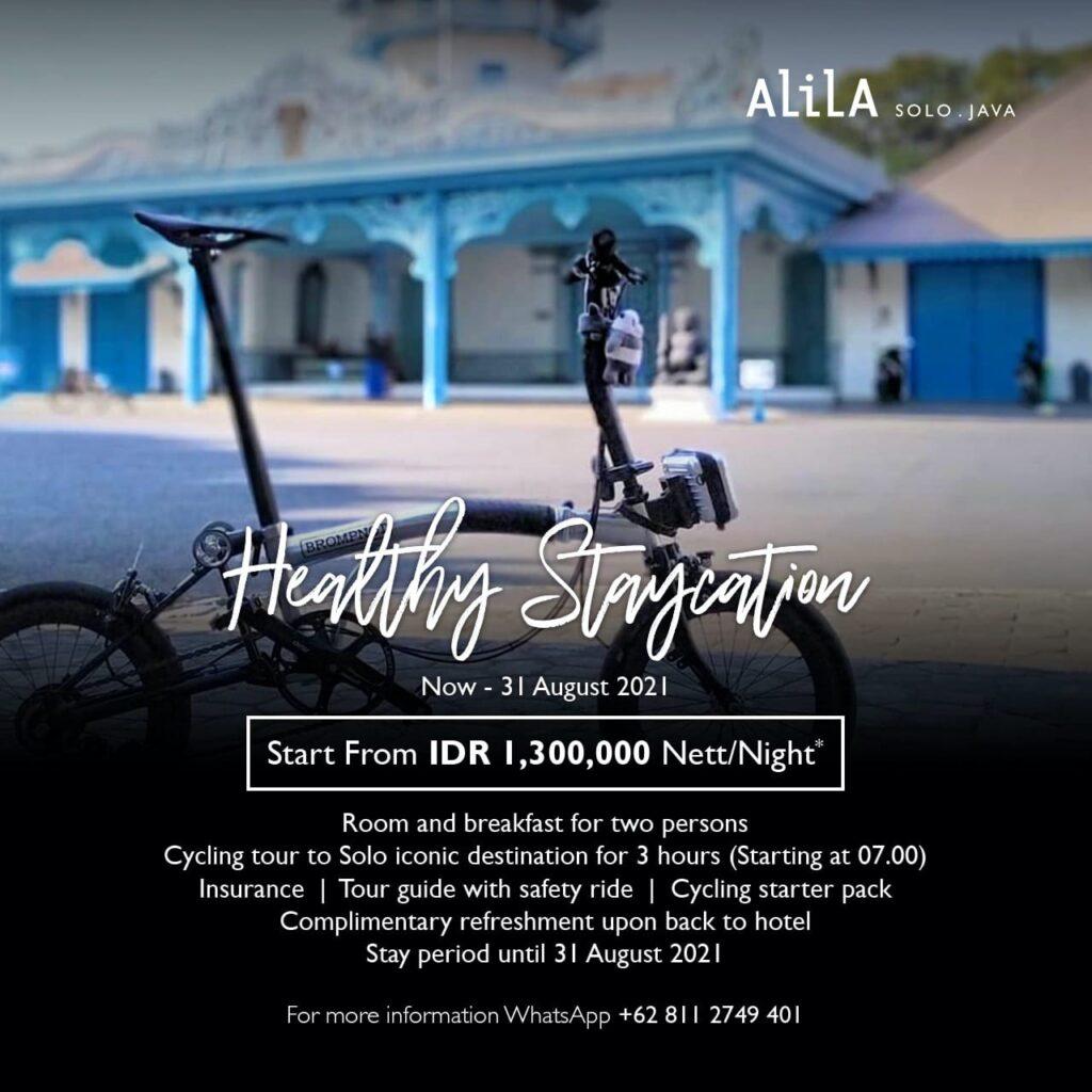 Healthy Staycation Bersama Alila Solo