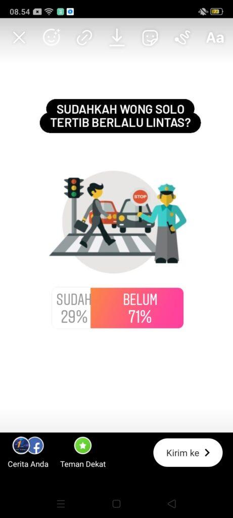 Waton Mancal, Pendengar Solopos FM Sepakat Mayoritas Pengguna Jalan Belum Tertib