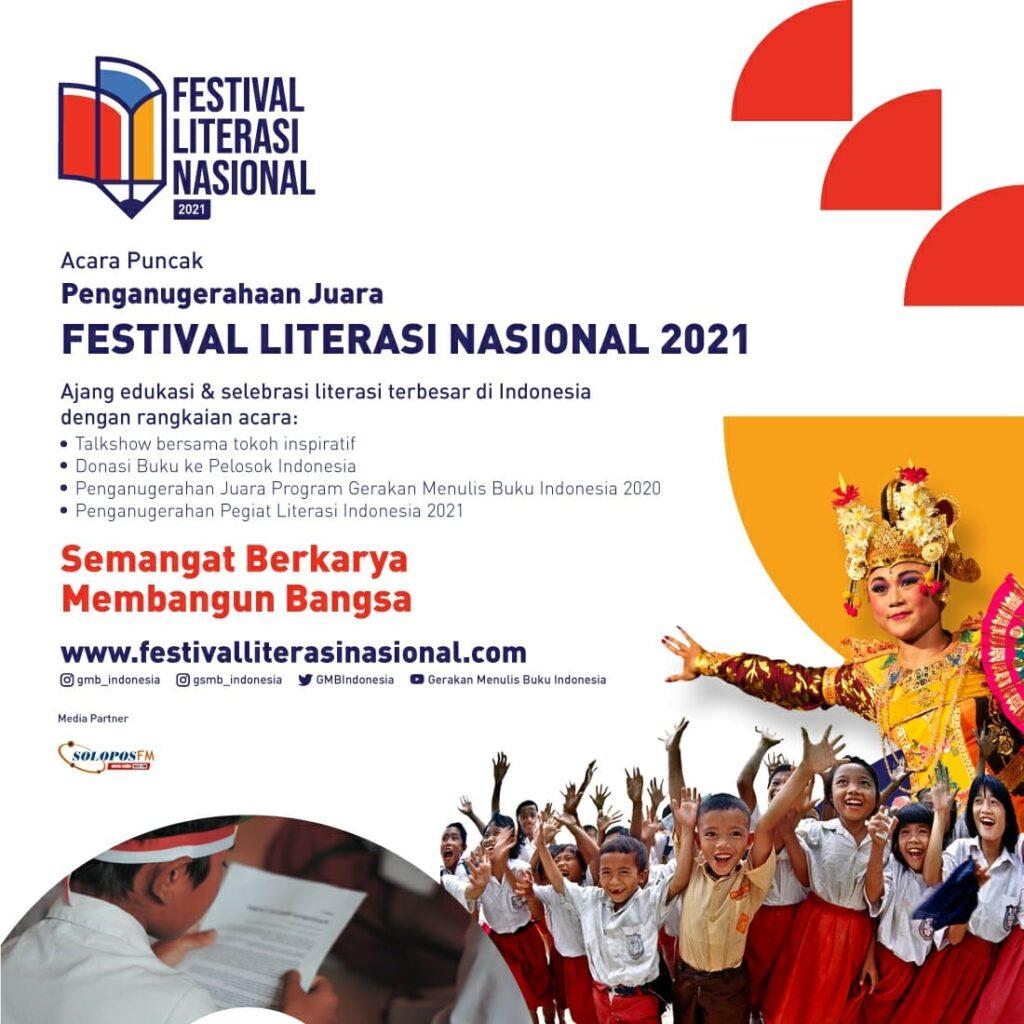 Ribuan Guru dan Siswa Bersiap Rayakan Festival Literasi Nasional Terbesar