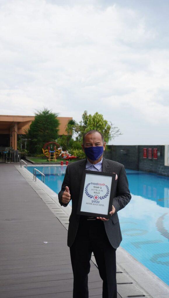 Mantap! Aston Solo Hotel Sabet Sepuluh Kategori Penghargaan dari Travelmyth