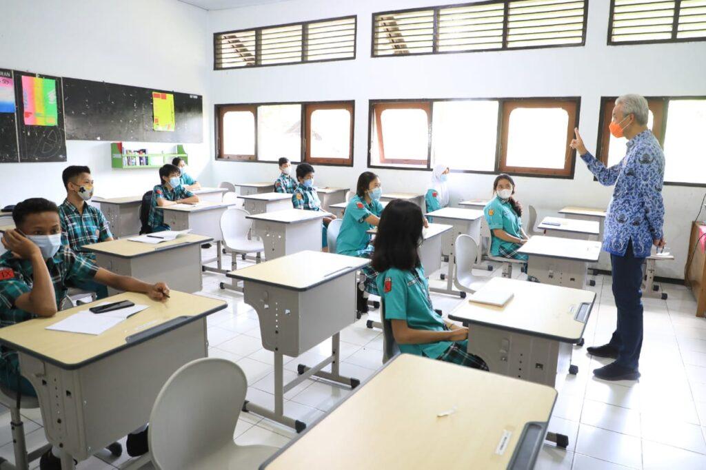 140 Sekolah di Jateng Gelar Uji Coba Pembelajaran Tatap Muka Mulai 5 April