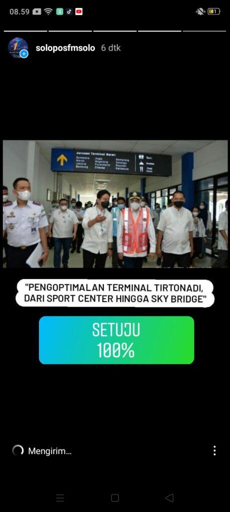 Kompak, Pendengar Solopos FM Dukung Revitalisasi Terminal Tirtonadi Asal Untuk Kepentingan Rakyat