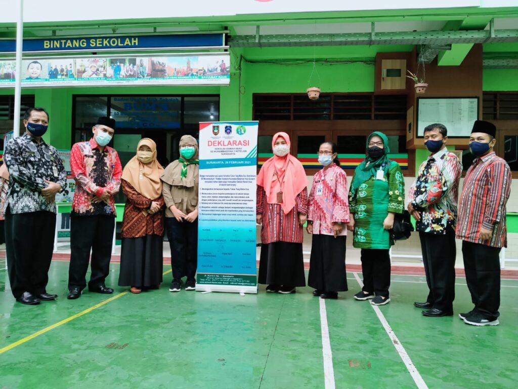 Deklarasi Sekolah Ramah Anak Oleh Gugus II RA Kartini Korwil III Banjarsari