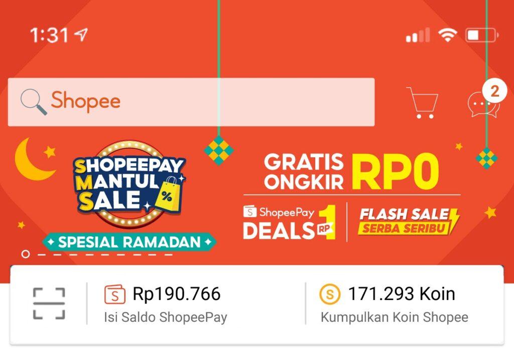 Semarakkan Momen Gajian di Tengah Ramadan, ShopeePay Mantul Sale Menggebrak dengan Promo Rp1 hingga Gratis Ongkir