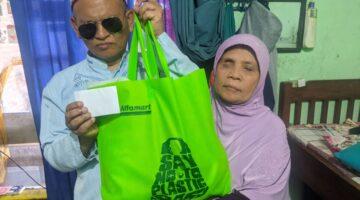 HUT 17, Solopos FM Dan Pendengar Gelar Baksos Bagi Disabilitas Netra Terdampak Covid-19