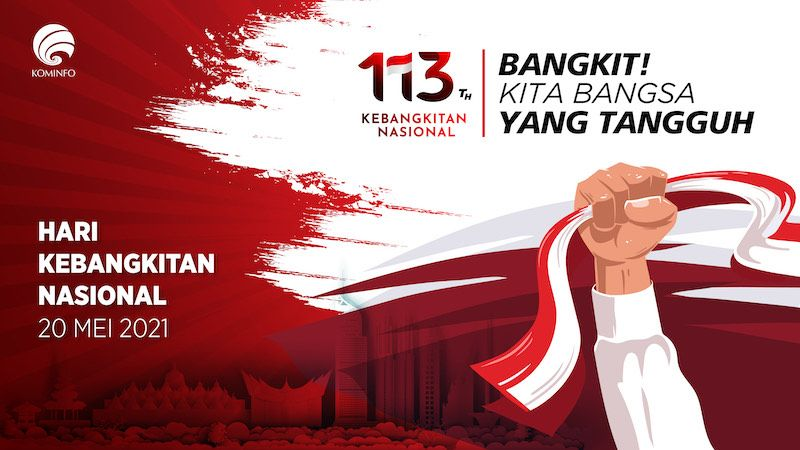 Refleksi Harkitnas 2021, Indonesia Harus Tangguh Bangkit Dari Pandemi!