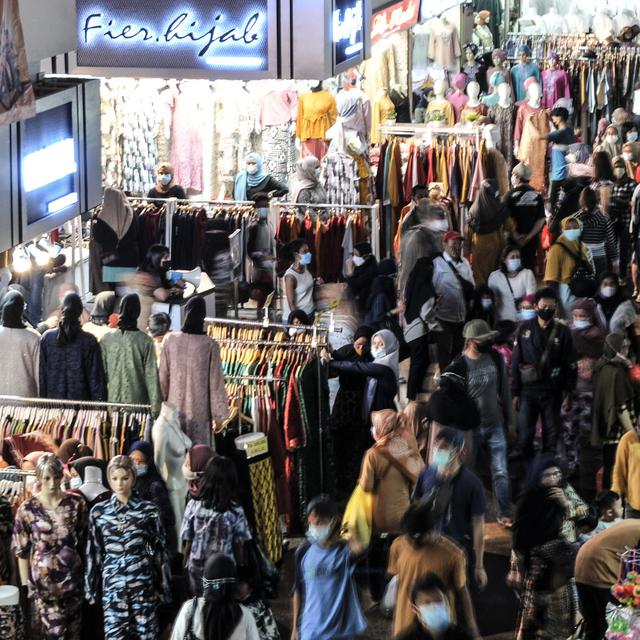 Mayoritas Pendengar Solopos FM Tidak Yakin Kerumunan Belanja Lebaran Bisa Diantisipasi