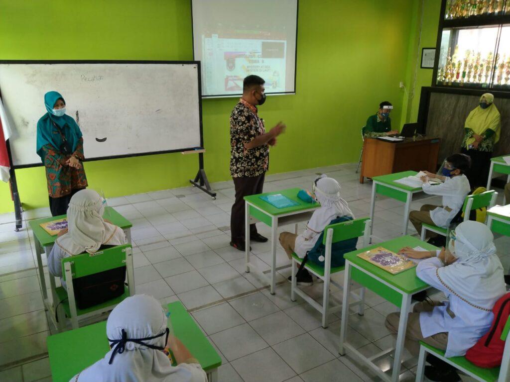 SD Muhammadiyah 1 Solo Mulai PTM