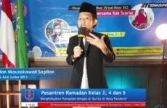 Pesantren Ramadan Virtual Bersama Dua Dai Cilik Nasional