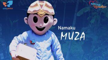 Muza, Maskot SOLOPEDULI Diluncurkan Bersamaan Tebar 3.000-an Bingkisan Ikatkan Cinta Ramadhan