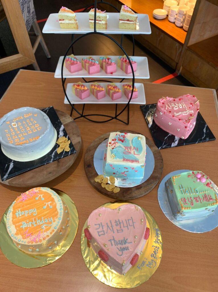 The Sunan Hotel Solo Luncurkan Korean Cake