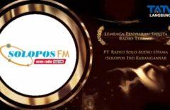 Solopos FM Jadi Radio Swasta Terbaik di Anugerah Penyiaran Jateng 2021