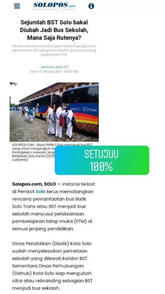 Polling angkutan pelajar